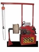 станок ТТН-420, токарного типа, с комбинированным (механическим и ручным) приводом