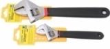"""Ключ разводной Partner PA-02009-10 с противоскользящей рукояткой CR-V 8""""-200мм, на пластиковом держателе"""